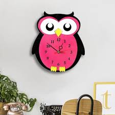 decor battery operated owl shaped mute