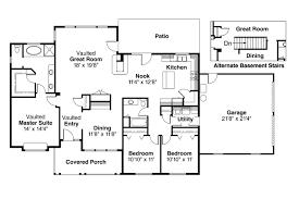 ranch house plan alpine 30 043 floor plan
