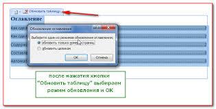 Как сделать содержание в word Компьютер плюс Изменить содержание