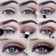 you smooth smokey eye makeup for green eyes