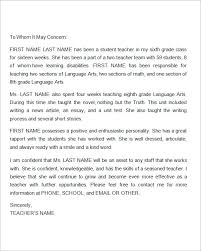 Best Ideas of Writing Reference Letter For Teacher With Additional Form