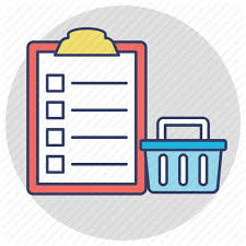 Grocery Checklist Shopping And Commerce 2 By Creative Stall