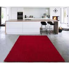 cozy collection red 7 ft x 9 ft indoor area rug
