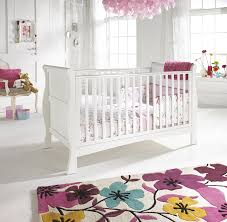 fabulous white baby bedroom with gorgeous flowers carpet baby nursery design ideas inmyinterior interior furniture