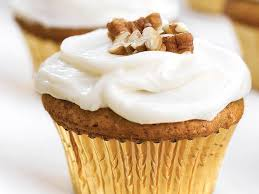 sweet potato cupcakes. Brilliant Potato Sweet PotatoPecan Cupcakes With Cream Cheese Frosting For Potato S