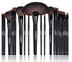 amazon beauty deal shany studio quality natural cosmetic brush set