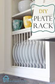 Wooden Plate Racks For Kitchens Kitchen Wall Plate Rack Pickboncom