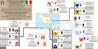 Mexico: Fútbol « billsportsmaps.com