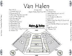 Someday In The Valley Van Halen Bootleg Discography