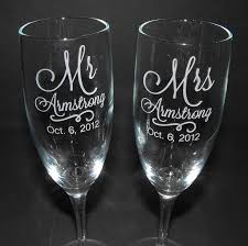 engraved wedding glasses. personalized champagne flutes - custom engraved wedding glasses toasting engraved r