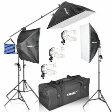 Photo Studio Lighting Kit Ebay Details About Emart 2400 Watt Continuous Lighting Studio Kit