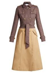 gabriela hearst armonia wool blend trench coat