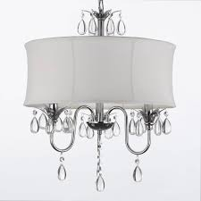 full size of lighting cool white drum shade chandelier with crystals 21 drum
