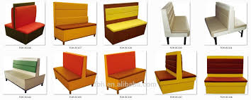 Modern Fast Food Restaurant Furniture Booth Seating And Tablesfoh