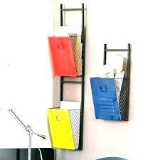 wall mount file racks metal wall mounted file folder holder organizer folders holders hanging