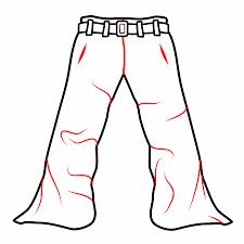 How To Draw Pants Drawing Cartoon Pants
