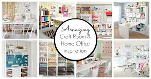 craft room office. 10 Creative Craft Rooms And Home Offices Room Office