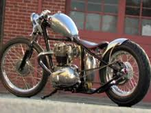 bsa and triumph bobbers short chops choppers and custom