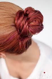 hair romance wet hair styles the fishtail bun
