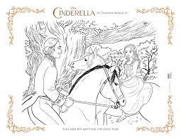 Cinderella Coloring Page Ella And Kit