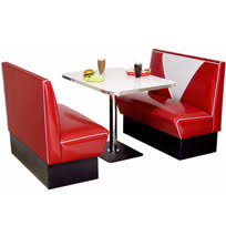 retro 50s furniture. booth seating diner furniture retro 50s