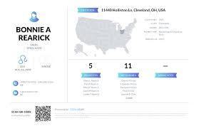 Bonnie A Rearick, (440) 845-2346, 11440 Holliston Ln, Cleveland ...
