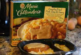 tv dinners. marie callender\u0027s country fried pork chop and gravy tv dinner tv dinners