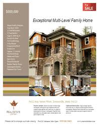 real estate flyer templates real estate listing flyer template for microsoft publisher
