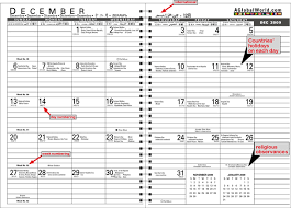 International Holiday Planner