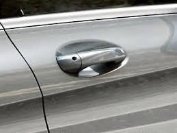 image is loading oem genuine mercedes benz chrome door handle inserts