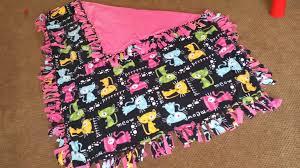 DIY No Sew Fleece Blanket Anderson Public Library 14 Elegant ... & DIY No Sew Fleece Blanket Anderson Public Library 14 Elegant Blankets Diy Adamdwight.com