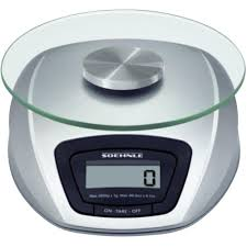 Small Kitchen Weighing Scales Kitchen Scales Digital Soehnle Siena Weight Range3 Kg Silver From