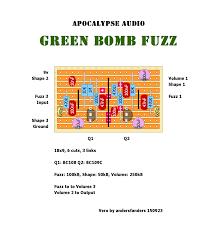 Green Layouts Unverified Layouts Apocalypse Audio Green Bomb Fuzz