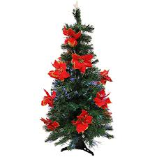Red Artificial Christmas Trees