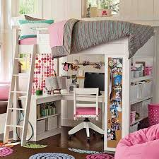 Catchy Loft Beds For Girls With Desk 1000 Ideas About Beds For