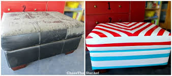 duct tape furniture. Duct Tape Covered Ottoman Before And After Via Chase The Star Furniture O