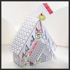 Neighbourhood Coloring Printable House Free Paper Toy Download