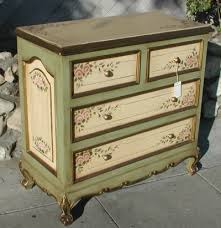 painted green furniture. Dresser In Olinda Romani\u0026 Pink Rose And Sage Green Design. Part Of Her French Hand Painted Furniture Collection. A
