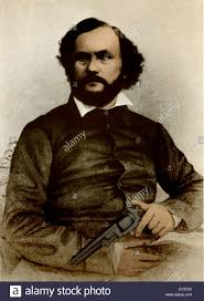 「Samuel Colt receives a patent for the first production-model revolver, a .34-caliber weapon.」の画像検索結果