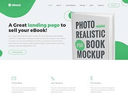 sale page template hbook responsive book landing page template dev items llc