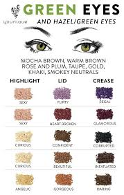 great moodstruck minerals pigment bination suggestions for green eyes