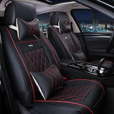 rav4 2017 seat covers vtear universal leather car seat covers for toyota rav4 c hr 2016