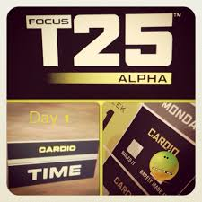 last week i started focus t25 it s a new workout created by insanity trainer shaun t it s marketed as a workout you can do in 25 minutes 5 days a week