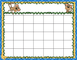 Solar System Chart Worksheet Unit Plan Calendar Template Templates Preschool Printable