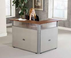 image of small reception desk