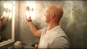 how to install a wall mounted light