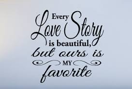 LOVE STORY QUOTES image quotes at hippoquotes.com via Relatably.com