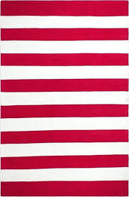 red and white striped rug red striped area rug fab habitat striped hand woven red white