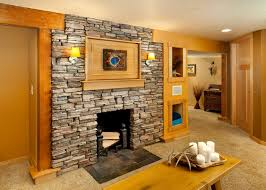 basement remodel designs. Perfect Basement Contemporary Basement Remodel With Natural Rock Fireplace To Basement Remodel Designs