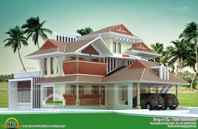 Small Picture 3 bedroom kerala style house design indian home design free